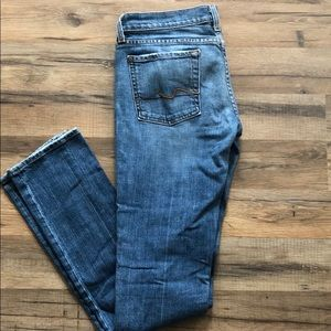 7 for All mankind Roxanne jeans size 28